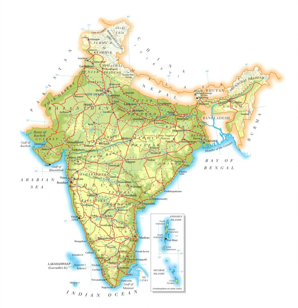 road-map-India